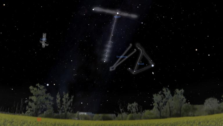 македонски соѕвездија на стелариум